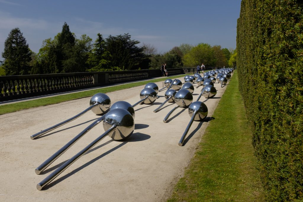 Yorkshire Sculpture Park - not-vital-let-100-flowers-bloom-2008-stainless-steel-c-320cm-each-courtesy-the-artist-and-ysp-photo-a-jonty-wilde