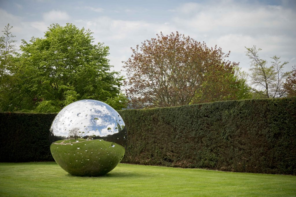 Yorkshire Sculpture Park - not-vital-moon-2015-stainless-steel-320cm-courtesy-the-artist-and-ysp-photo-a-jonty-wilde