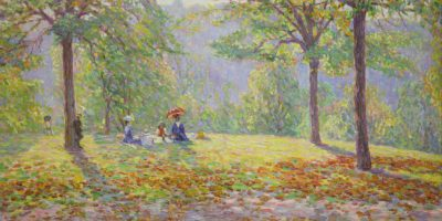 The Picnic Manchester Art Gallery 1909